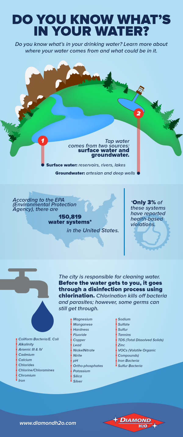 Infographic Do You Know What S In Your Drinking Water